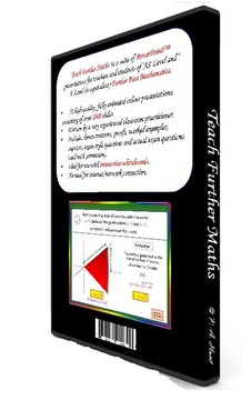 Teach Further Maths DVD-Rom